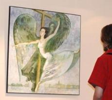 Персональная выставка Марии Аристовой в музее Анны Ахматовой