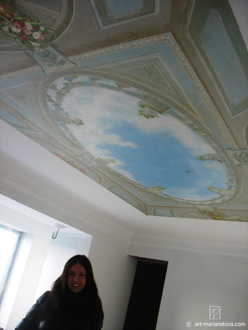 Роспись стен и декор интерьера