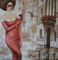 Мария Аристова Бокал красного вина